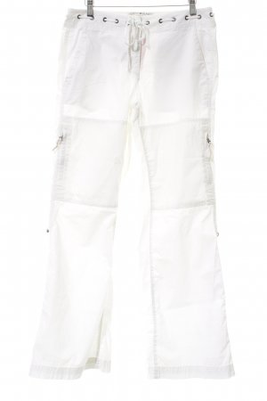 Tommy Hilfiger Stretchhose weiß Beach-Look