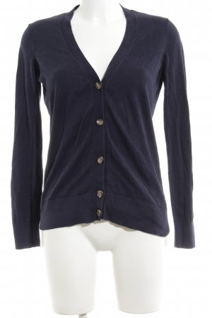 Tommy Hilfiger Strick Cardigan schwarz Business-Look