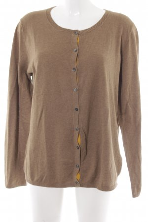 Tommy Hilfiger Strick Cardigan camel Casual-Look