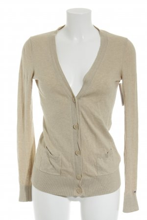 Tommy Hilfiger Strick Cardigan creme Casual-Look