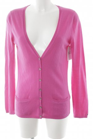 Tommy Hilfiger Strick Cardigan pink Casual-Look