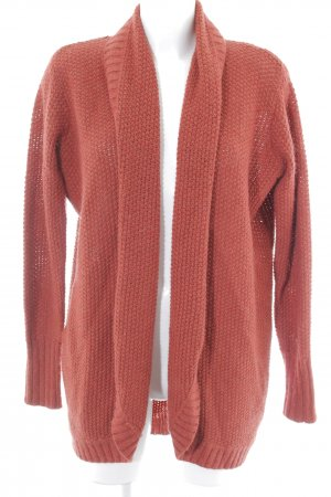 Tommy Hilfiger Strick Cardigan rostrot Casual-Look