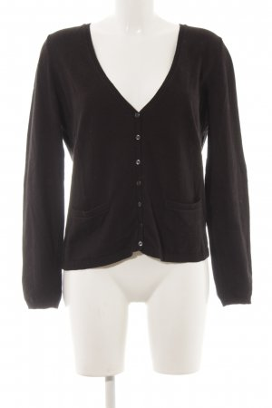 Tommy Hilfiger Strick Cardigan schwarz Casual-Look