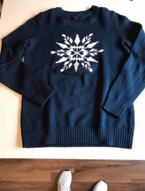 Tommy Hilfiger Christmasjumper dark blue-white