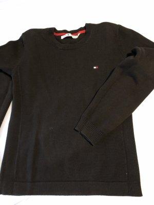 Tommy Hilfiger Strick Pullover Schwarz XL
