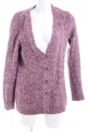 Tommy Hilfiger Strickjacke pink meliert Casual-Look