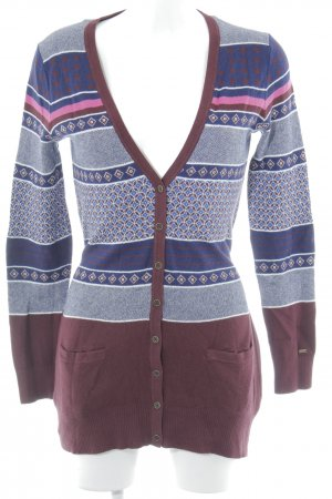 Tommy Hilfiger Strickjacke Mustermix Casual-Look