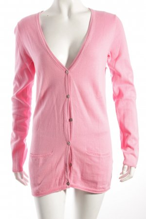 Tommy Hilfiger Strickjacke pink klassischer Stil