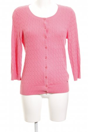 Tommy Hilfiger Strickjacke rosa Casual-Look