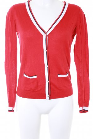 Tommy Hilfiger Strickjacke rot Casual-Look