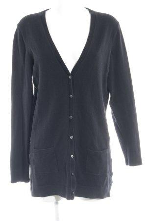 Tommy Hilfiger Giacca in maglia nero modello web stile casual