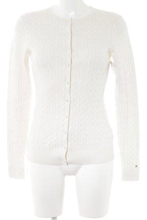 Tommy Hilfiger Cardigan natural white elegant