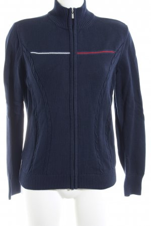 Tommy Hilfiger Strickjacke Zopfmuster Casual-Look