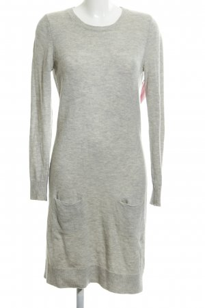 Tommy Hilfiger Strickkleid hellgrau Casual-Look