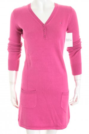 Tommy Hilfiger Strickkleid pink Casual-Look