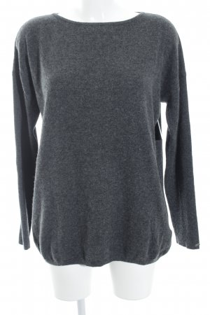 Tommy Hilfiger Strickpullover anthrazit meliert Casual-Look