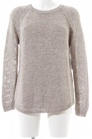 Tommy Hilfiger Strickpullover creme-altrosa Casual-Look