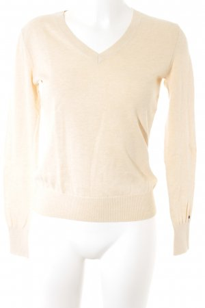 Tommy Hilfiger Strickpullover creme Casual-Look