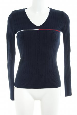 Tommy Hilfiger Strickpullover dunkelblau Casual-Look