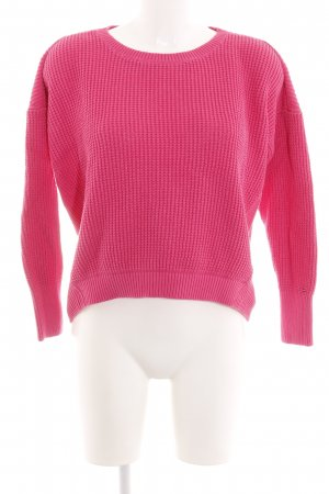 Tommy Hilfiger Strickpullover pink Casual-Look