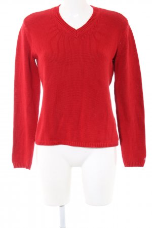 Tommy Hilfiger Strickpullover rot Casual-Look