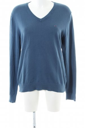 Tommy Hilfiger Strickpullover blau Casual-Look