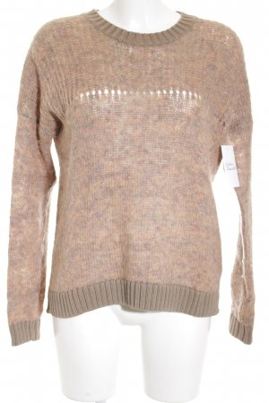 Tommy Hilfiger Knitted Sweater light grey-apricot color gradient casual look
