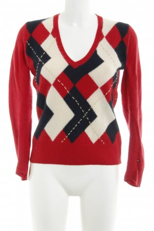 Tommy Hilfiger Maglione lavorato a maglia motivo a quadri stile casual