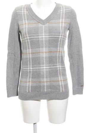 Tommy Hilfiger Gebreide trui geruite print casual uitstraling