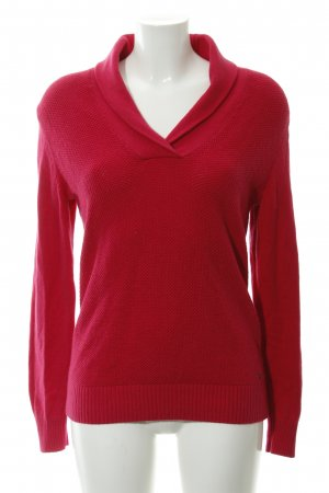 Tommy Hilfiger Strickpullover neonrot Casual-Look