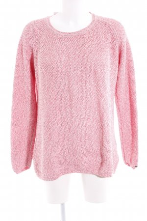 Tommy Hilfiger Strickpullover pink-rosé meliert Casual-Look