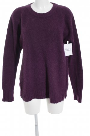 Tommy Hilfiger Strickpullover purpur Casual-Look