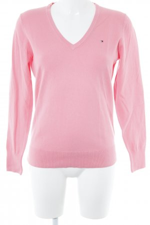 Tommy Hilfiger Strickpullover rosa Casual-Look
