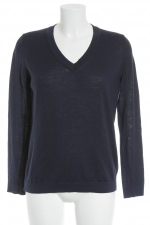 Tommy Hilfiger Strickpullover stahlblau Casual-Look