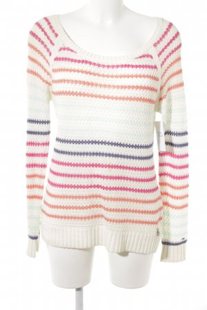 Tommy Hilfiger Strickpullover Streifenmuster Casual-Look