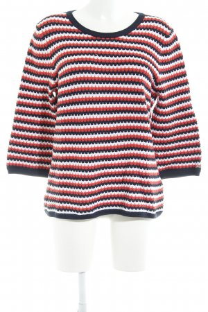 Tommy Hilfiger Strickpullover Zackenmuster Casual-Look