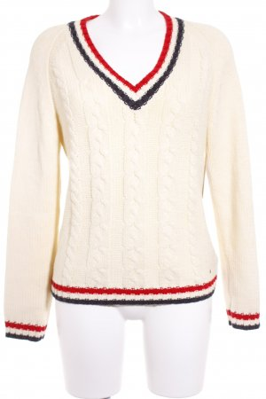 Tommy Hilfiger Knitted Sweater cable stitch fluffy