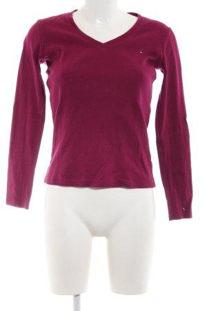 Tommy Hilfiger Strickshirt pink Casual-Look