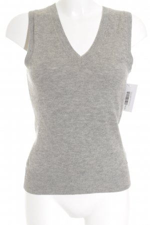 Tommy Hilfiger Strickweste grau Casual-Look