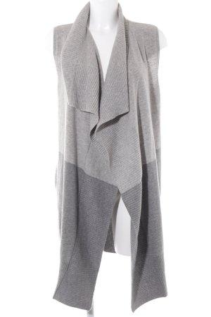 Tommy Hilfiger Smanicato lavorato a maglia grigio chiaro-grigio stile semplice