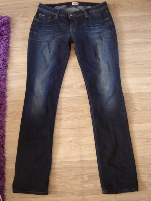 Tommy Hilfiger Tube jeans blauw-donkerblauw