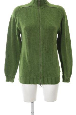 Tommy Hilfiger Chaqueta de tela de sudadera verde look casual