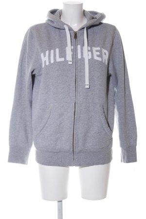 Tommy Hilfiger Sweat Jacket light grey flecked casual look