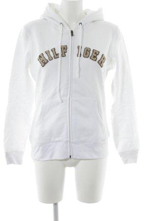 Tommy Hilfiger Sweatjacke weiß-beige Casual-Look