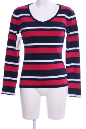 Tommy Hilfiger Sweatshirt Streifenmuster Casual-Look