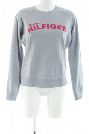 Tommy Hilfiger Sweat Shirt light grey-red flecked casual look