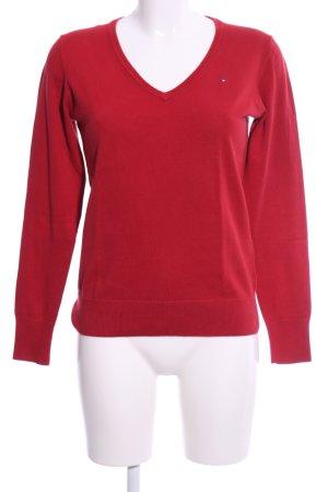 Tommy Hilfiger Sweatshirt rot Casual-Look