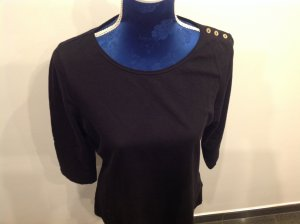 Tommy Hilfiger Sweatshirt 3/4 Arm Schwarz Gr.L