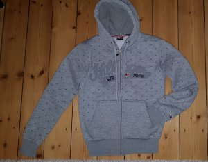 Tommy Hilfiger Hooded Shirt light grey