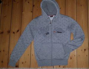 Tommy Hilfiger Camicia con cappuccio grigio chiaro